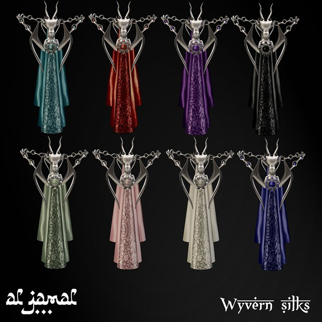 Al Jamal - Wyvern silks