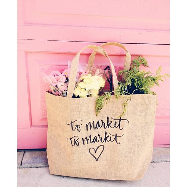 to market...