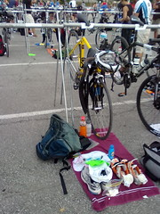 Transition area all set up