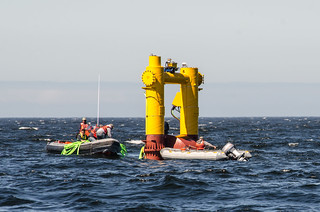 OSU scientists deploy wave energy test device