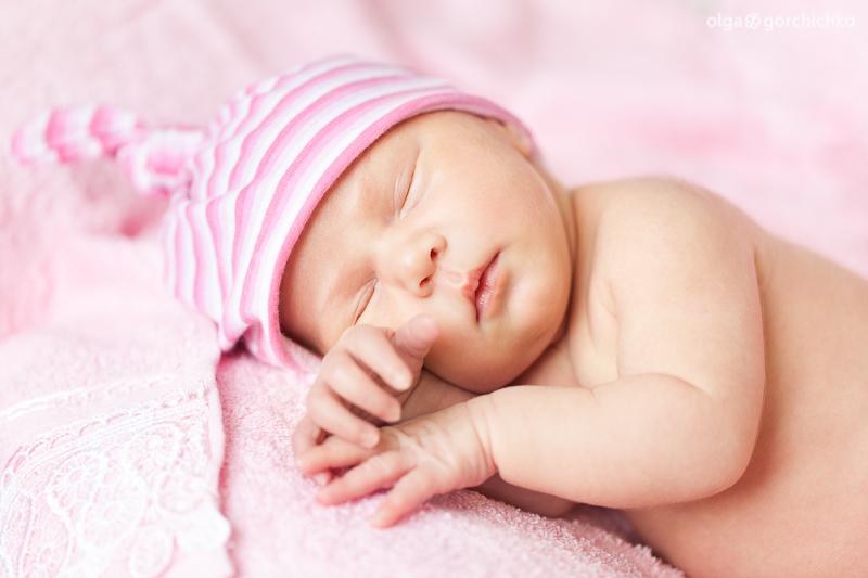 Новорожденная Ирочка, 14 дней