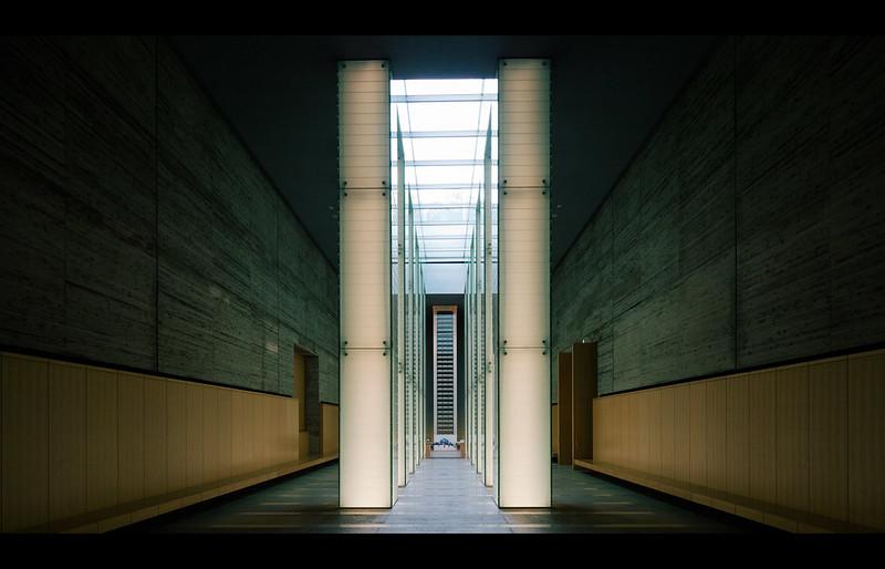 国立長崎原爆死没者追悼平和祈念館。