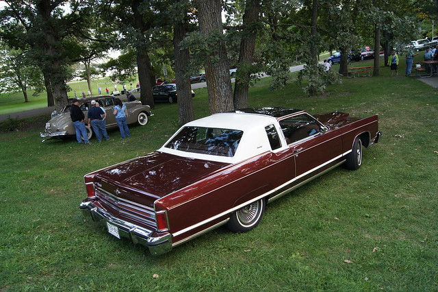 77 lincoln continental town coupe willmar car club annual flickr photo sharing. Black Bedroom Furniture Sets. Home Design Ideas