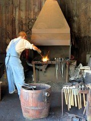 food(0.0), wood(1.0), forge(1.0), iron(1.0), person(1.0), blacksmith(1.0),