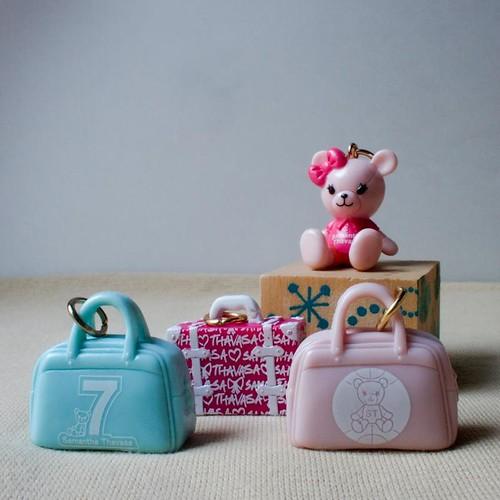 Pink Bear & Bags