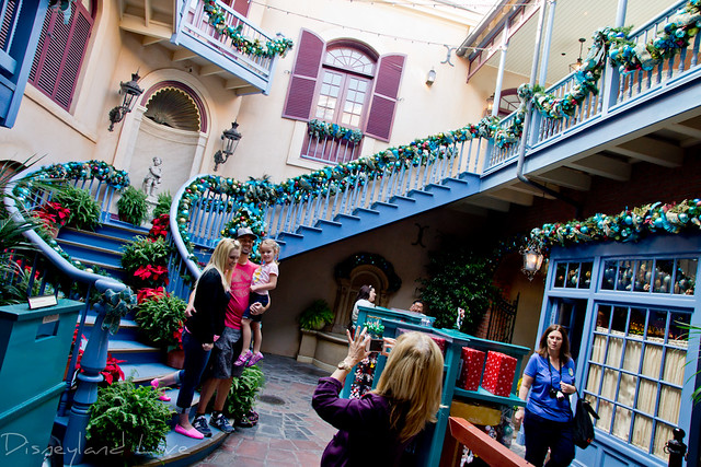 New Orleans Square Christmas Decorations - 2012