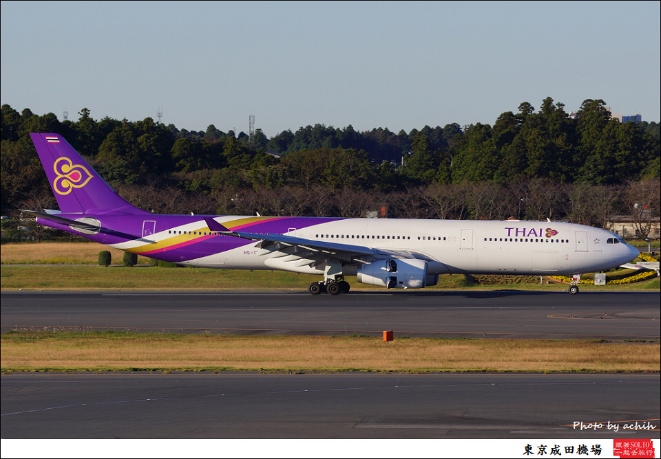 Thai Airways International / HS-TBC / Tokyo - Narita International