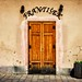 Old door in Bratislava by Jim Nix / Nomadic Pursuits
