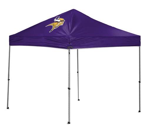 Minnesota Vikings TailGate Straight Leg Canopy, 9' x 9'