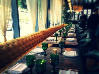 Faith & Flower main dining room before opening