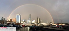 Bellevue rainbow - photo by @buscommuter | Bellevue.com