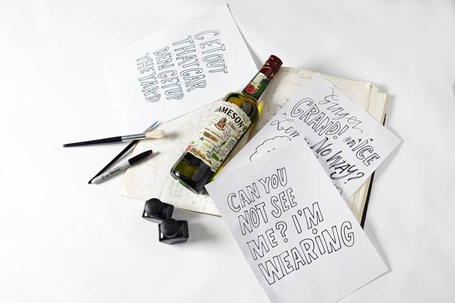 Jameson Irish Whisky Limited Edition Bottle Design Notes