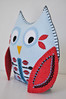 Strawberry on Ice Owl by HibouDesigns