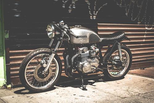Custom Honda Motorcycle