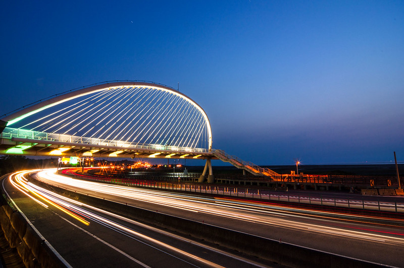 新竹香山 藍天橋+豎琴橋