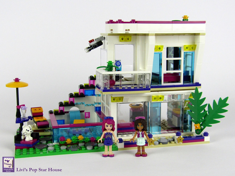 Heartlake Times Review 41135 Livis Pop Star House