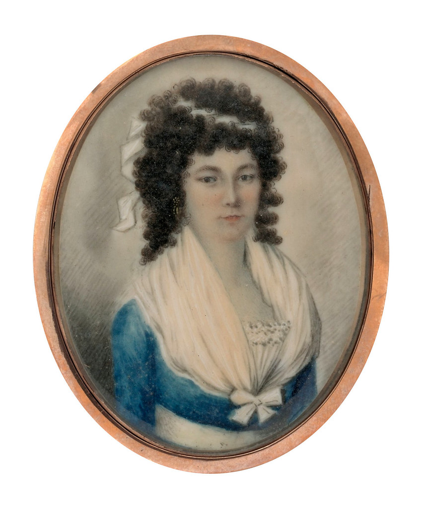 Portrait of a Lady by Lawrence Sully, 1795