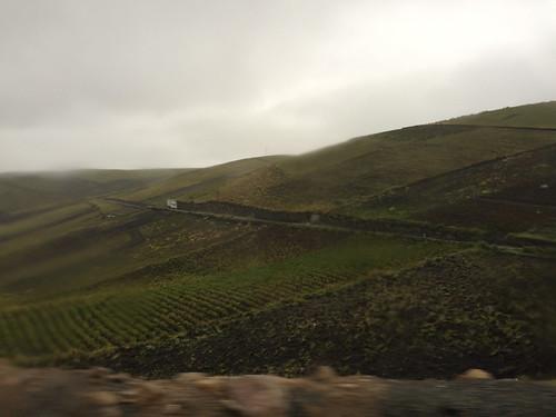 Trajet de Latacunga à Quilotoa sous la pluie mais à travers de magnifiques paysages