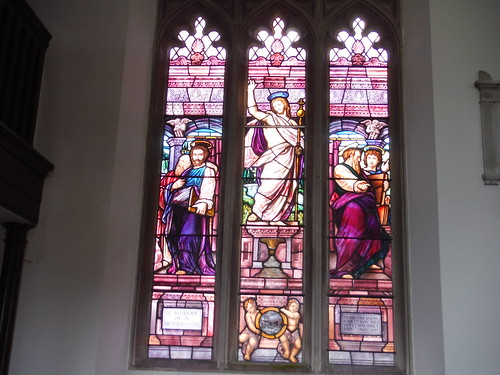 Stained Glass Window, St. Peter, West Tytherley