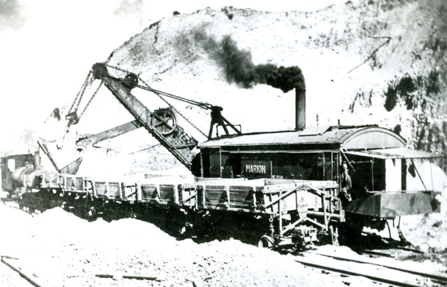 Mackay, Idaho Ore scoop