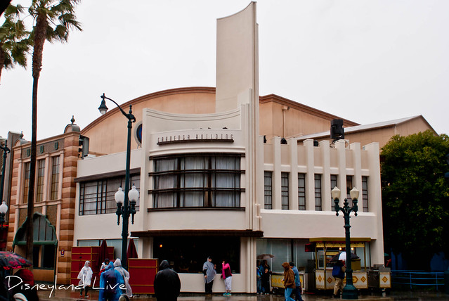 Cahuenga Building - Disney California Adventure