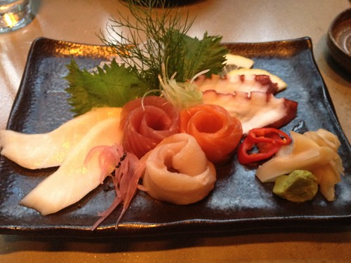 Chef's sashimi selection @ union sushi Chicago