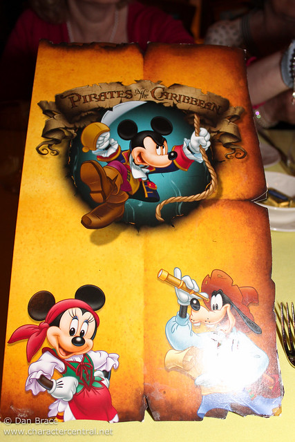 A very Pirate dinner at Lumiere's