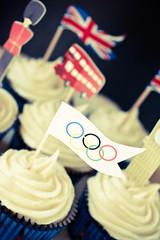 London Olympic Cupcakes