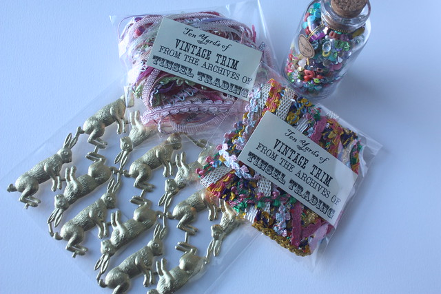 Tinsel trading vintage notions