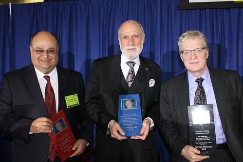 2012 Arthur C. Clarke Awardees