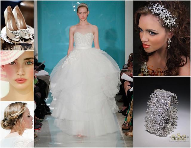 Classic, Romantic Bridal Style