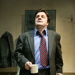 Nathan Lane as Butley in the Huntington Theatre Company's production of Simon Gray's