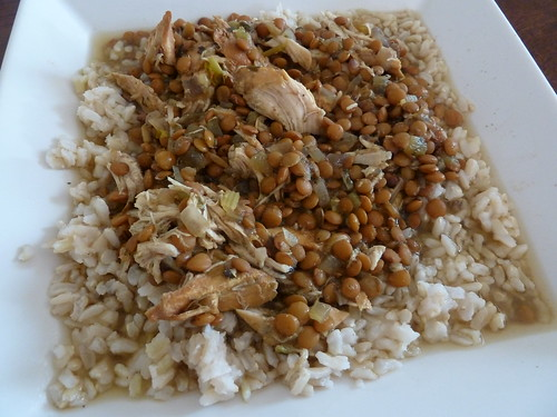 CrockPot Indian Spiced Lentils with Chicken