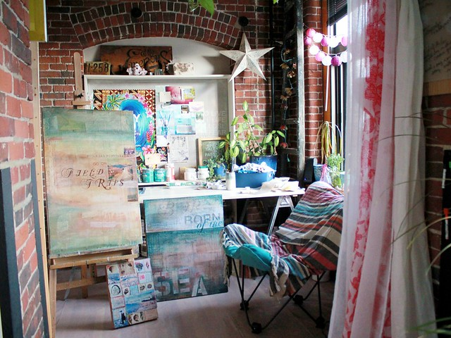rearranged studio