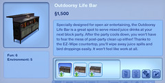 Outdoorsy Life Bar
