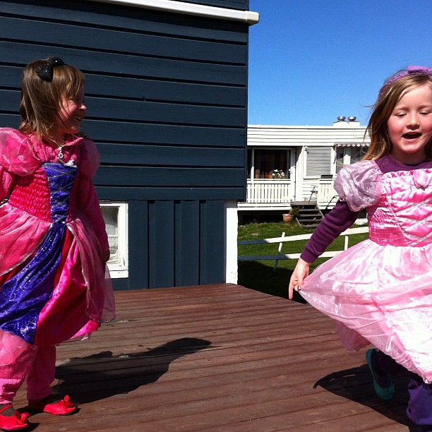 Springende prinsesser
