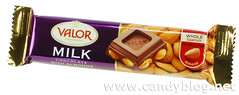 Valor Milk Chocolate with Almonds