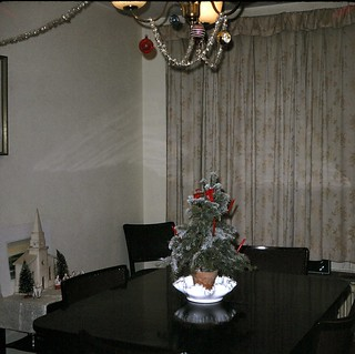 West Germany    -    Kitzingen   -   Marshall Heights    -   Bldg 330 A  C-1    -   Our Little Christmas Tree   -   December 1969