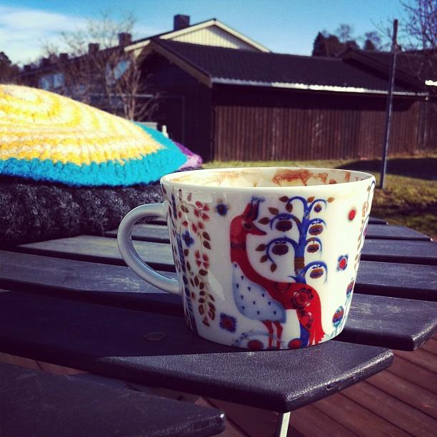 Kaffe i sola