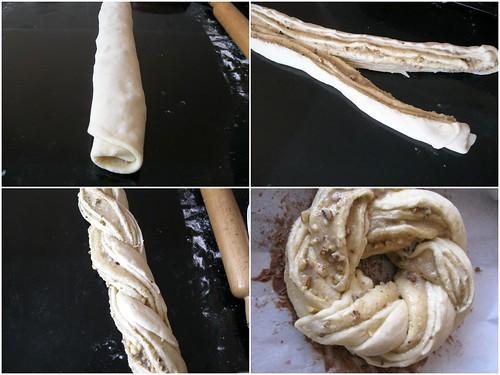 tahinli çörek yapılışı1
