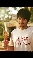 In Coke. We Trust