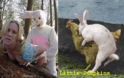 Easter bunny sex