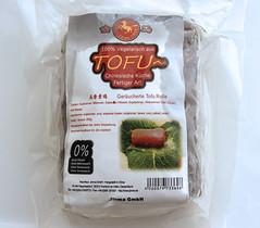 gemarineerde, gerookte tofu
