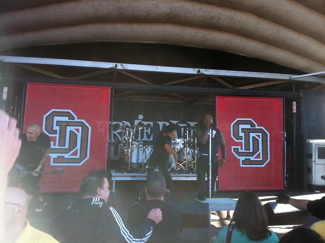 2011-09-10 Rockstar Uproar Tour @ Darien Lake