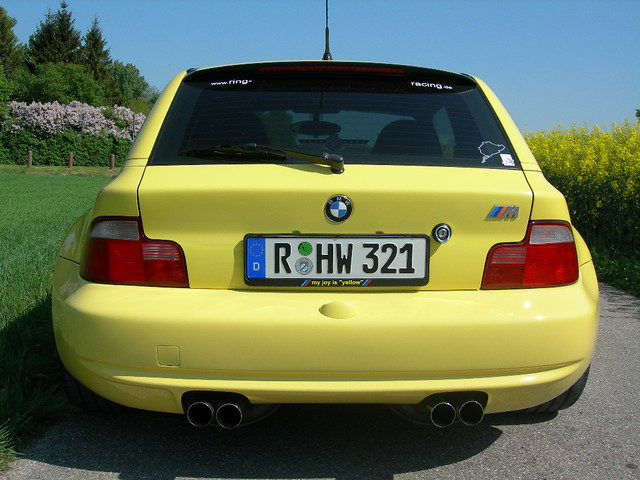 1998 M Coupe | Dakar Yellow | Gray/Black