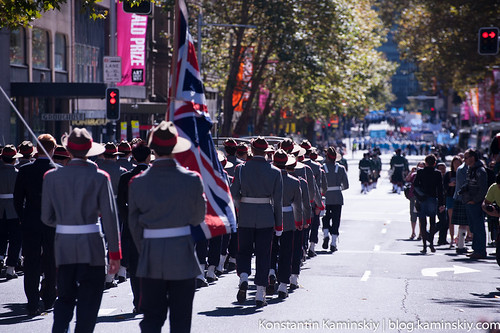 ANZAC day's parade