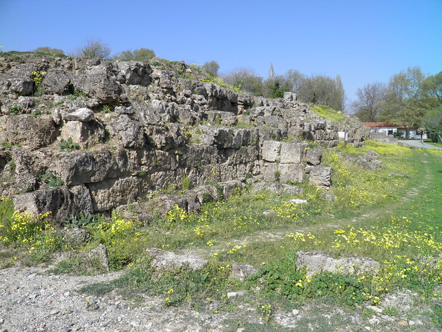 Fortification wall, Ancient Edessa