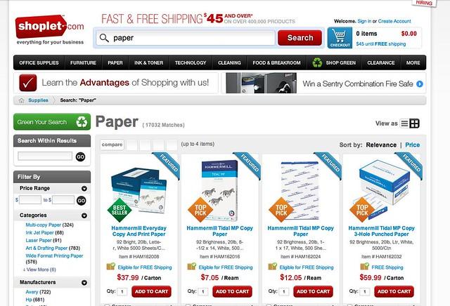 paper pre-green