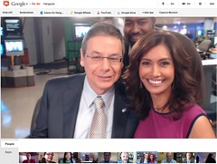 Deputy Foreign Minister Danny Ayalon - Fox LA Google+ Hangout - pix 08