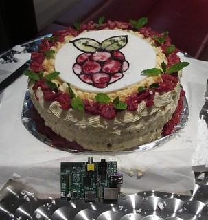 Raspberry Pi cake   Raspberry Pi